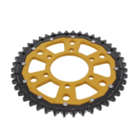 REAR SPROCKET DUAL 44 TOOTH PITCH 530 GOLD ZFD81644GLD