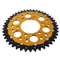 REAR SPROCKET DUAL 44 TOOTH PITCH 520 GOLD ZFD47844GLD