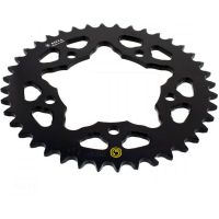 Rear sprocket aluminium 40 tooth pitch 520 black