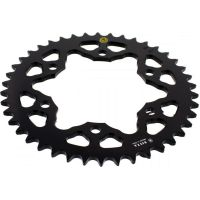 Rear sprocket aluminium 42 tooth pitch 520 black 201M 52042N