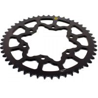 Rear sprocket aluminium 49 tooth pitch 520 black 201M 52049N