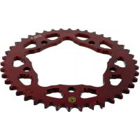 Rear sprocket aluminium 42 tooth pitch 525 red 201Z 52542R