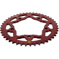Rear sprocket aluminium 45 tooth pitch 525 red 201Z 52545R