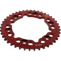 Rear sprocket aluminium 42 tooth pitch 530 red