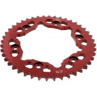 Rear sprocket aluminium 44 tooth pitch 530 red