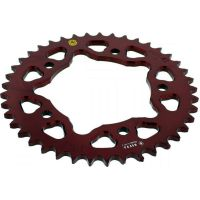 Rear sprocket aluminium 41 tooth pitch 525 red