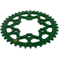 Rear sprocket aluminium 39tooth pitch 525 green