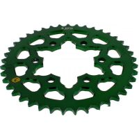 Rear sprocket aluminium 41tooth pitch 525 green