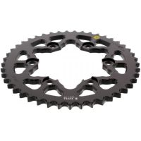 Alu chain wheel 45T pitch 530 black Sitta insided