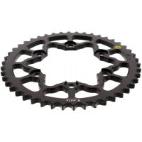 Alu chain wheel 46T pitch 530 black Sitta insided