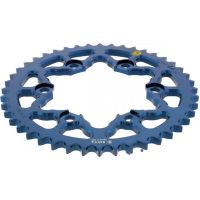 Alu chain wheel 44T pitch 530 blue Sitta insidedurc