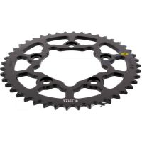 Alu chain wheel 44T pitch 520 black Sitta insided für Ducati 749 Biposto 749 H500AA 2003