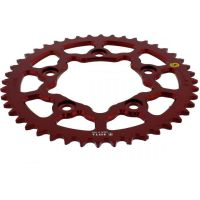 Alu chain wheel 44T pitch 520 red Sitta insidedurch für Ducati 749 Biposto 749 H500AA 2003