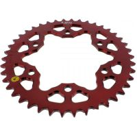 Alu chain wheel 42T pitch 520 red