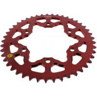 Alu chain wheel 45T pitch 520 red 201M 52045R