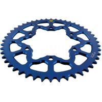 Alu chain wheel 48T pitch 520 blue 201M 52048A