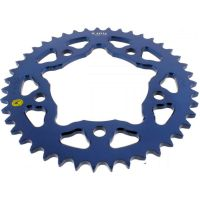 Alu chain wheel 43T pitch 525 blue