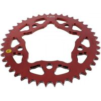 Alu chain wheel 43T pitch 525 red
