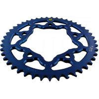 Alu chain wheel 45T pitch 525 blue 203N 52545A