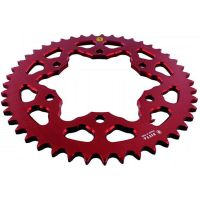 Alu chain wheel 45T pitch 525 red 201M 52545R