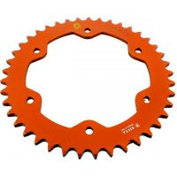 Rear sprocket aluminium 41z Pitch 525 orange