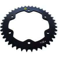 Rear sprocket aluminium 41z Pitch 525 black  205T 52541N