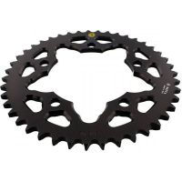 Alu chain wheel 43T pitch 525 black 202Y 52543N