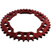 Alu chain wheel 40T pitch 530 red