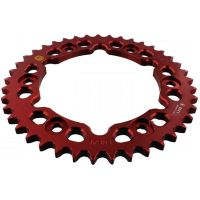 Alu chain wheel 41T pitch 530 red