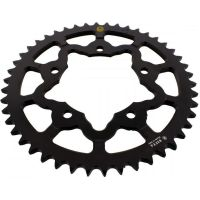 Alu- sprocket 46Z Pitch 525 black  202P 52546N