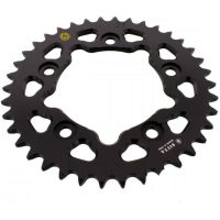 Rear sprocket aluminium 38 tooth pitch 520 black  202D 52038N