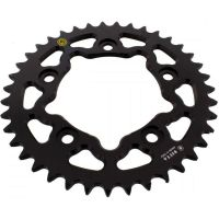 Rear sprocket aluminium 39 tooth pitch 520 black  202D 52039N