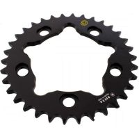 Alu- sprocket 34Z Pitch 525 black