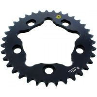 Rear sprocket aluminium 35z Pitch 525 black