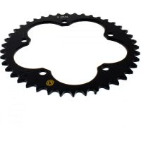 Sitta rear sprocket aluminium 42z pitch 520 black 201A 52042N
