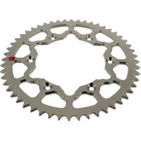 REAR SPROCKET ALU 52 TOOTH PITCH 520 SILVER 101V 52052S