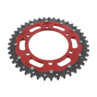 Rear sprocket dual 43 tooth pitch 525 red ZFD187643RED