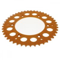 Alu chain wheel 45T pitch 520 orange 513206545AO
