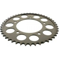 Rear sprocket aluminium 47 tooth pitch 525 silver