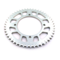 Rear sprocket aluminium 49tooth pitch 420 silver