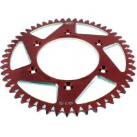 Rear sprocket aluminium 52tooth pitch 520 red A401252RED
