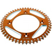 Rear sprocket aluminium 50tooth pitch 428 orange