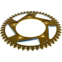 Rear sprocket aluminium 47tooth pitch 520 gold A489647GLD