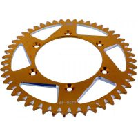 Rear sprocket aluminium 49tooth pitch 520 gold