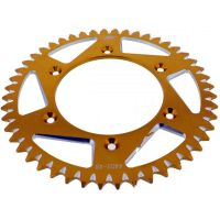 Rear sprocket aluminium 48tooth pitch 520 gold A440348GLD