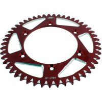 Rear sprocket aluminium 49tooth pitch 520 red
