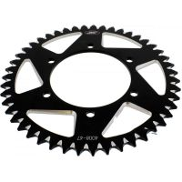 Rear sprocket aluminium 47tooth pitch 520 black A400847BLK