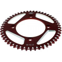 Alu chain wheel 50T pitch 420 red für Beta RR Motard 50  2007