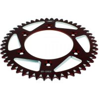 Alu chain wheel 48T pitch 520 red A436048RED