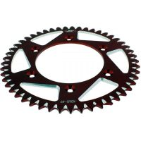 Alu chain wheel 49T pitch 520 red